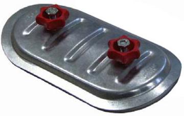 Лючок для чистки (Исп. 1) 200*100/ф250