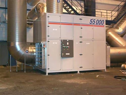 Осушители воздуха для промышленного применения.